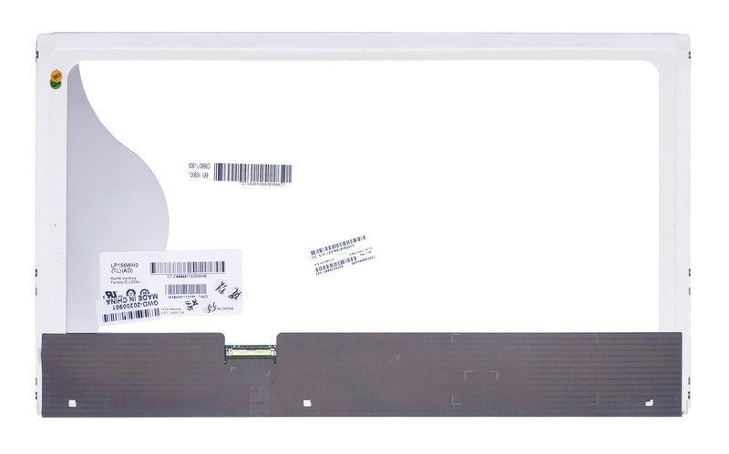 """Матрица для ноутбука 15,6"""", Normal (стандарт), 40 pin (снизу слева), 1366x768, Светодиодная (LED), без"""
