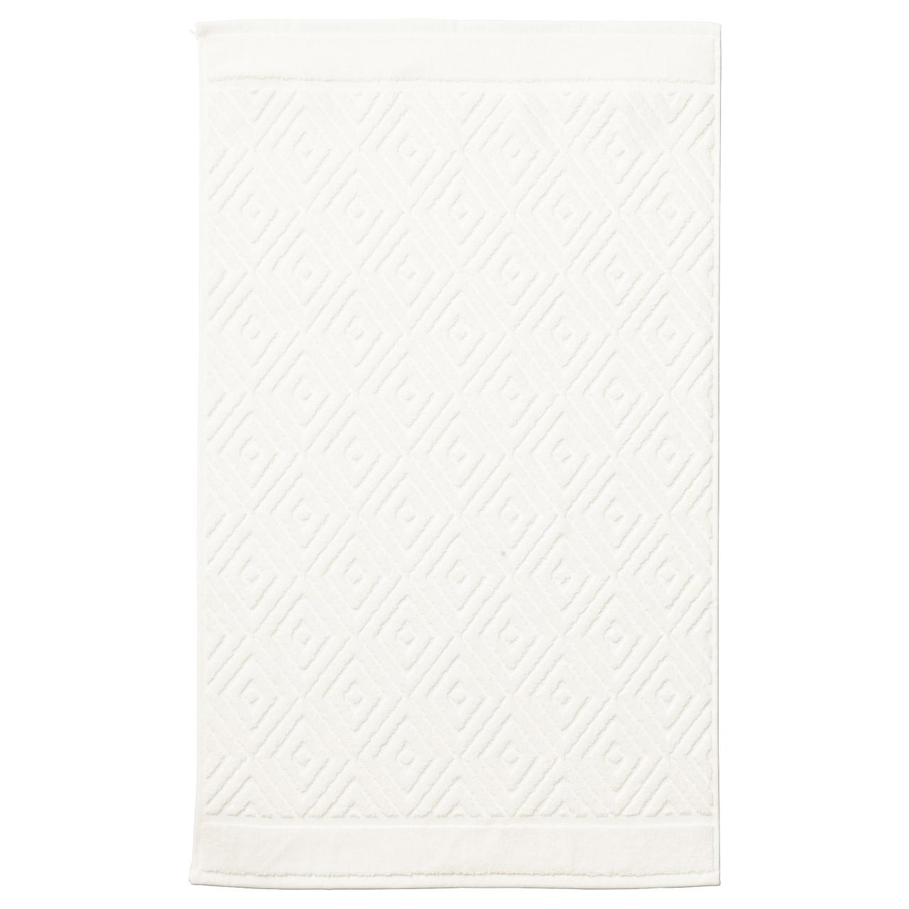 ФЭЛАРЕН Коврик для ванной, белый, 50x80 см, 40335906, ИКЕА IKEA, FÄLAREN