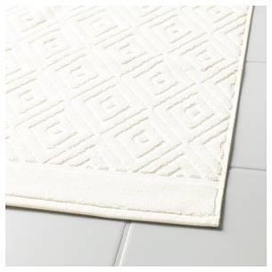 ФЭЛАРЕН Коврик для ванной, белый, 50x80 см, 40335906, ИКЕА IKEA, FÄLAREN, фото 2