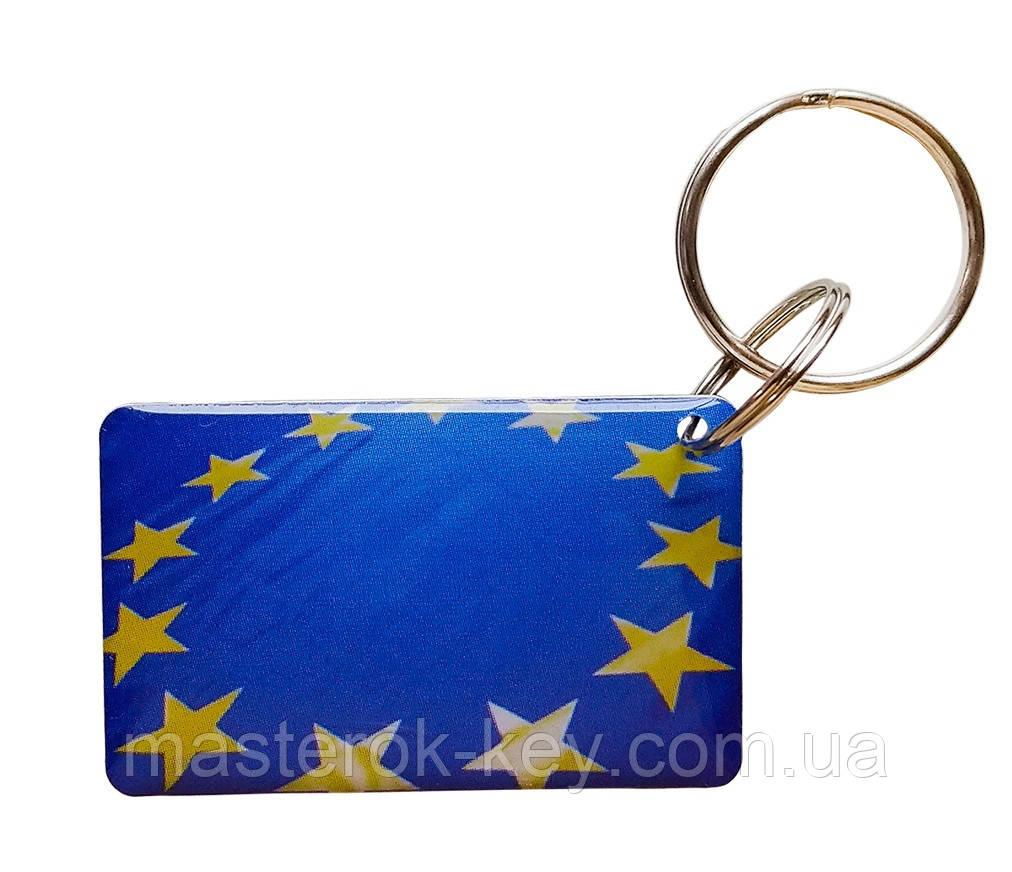 Заготовка-брелок для домофона RFID 5577 перезаписываемая Европа тип 7
