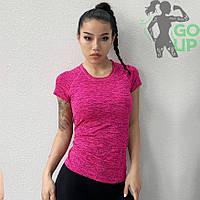 Спортивная женская футболка TAU, для занятий йогой, бегом, фитнесом