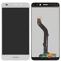 Дисплей Huawei Honor 5C (NEM-L51)/Honor 7 Lite (NEM-L21)/GT3 (NMO L-31) + сенсор белый ( модуль, стекло)