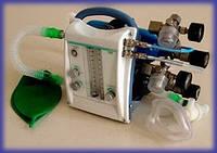 Аппарат ингаляционного наркоза газовой смесью кислорода и закисью азота портативный АНпСП-01-«ТМТ»