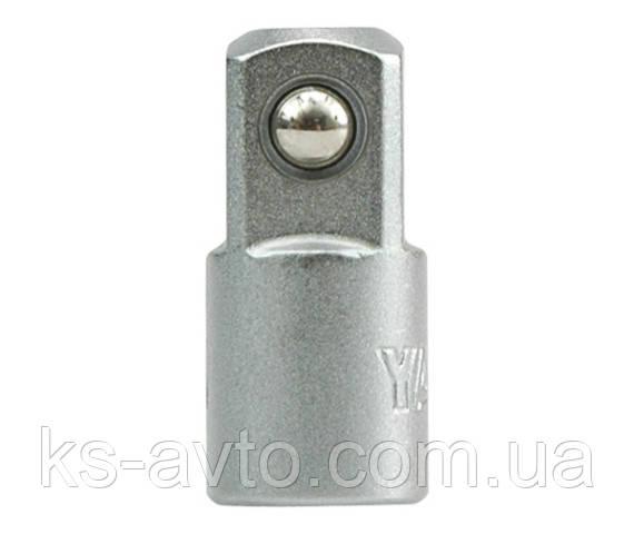"""Переходник 1/4""""(F) - 3/8""""(М) 25 мм YATO"""