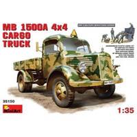 Немецкий полноприводный грузовой автомобиль MB L1500A (код 200-106728)