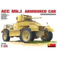 Британский бронеавтомобиль AEC Mk.I (код 200-106729)