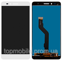 Дисплей Huawei Honor 5X (KIW-L21)/GR5 (2016)/Honor X5 + сенсор белый ( модуль, стекло)