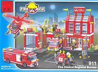 Конструктор 911 Пожарная охрана (980 деталей)
