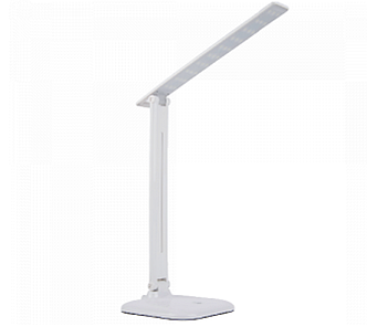 Настольная LED лампа LEDEX 8W 3000-6000K, белая, димер, НОЧНИК