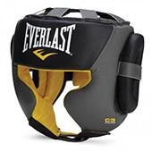 Шлем Everlast C3 Professional Sparring Headgear S/M черный/серый + сертификат на 200 грн в подарок (код 179-191183)