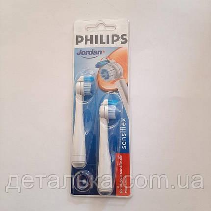 Оригінальні насадки для зубної щітки Philips HX1600, фото 2
