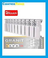 Биметаллический Радиатор Отопления Wisser Granit 200*96