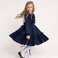 Школьное красивое платье для девочки