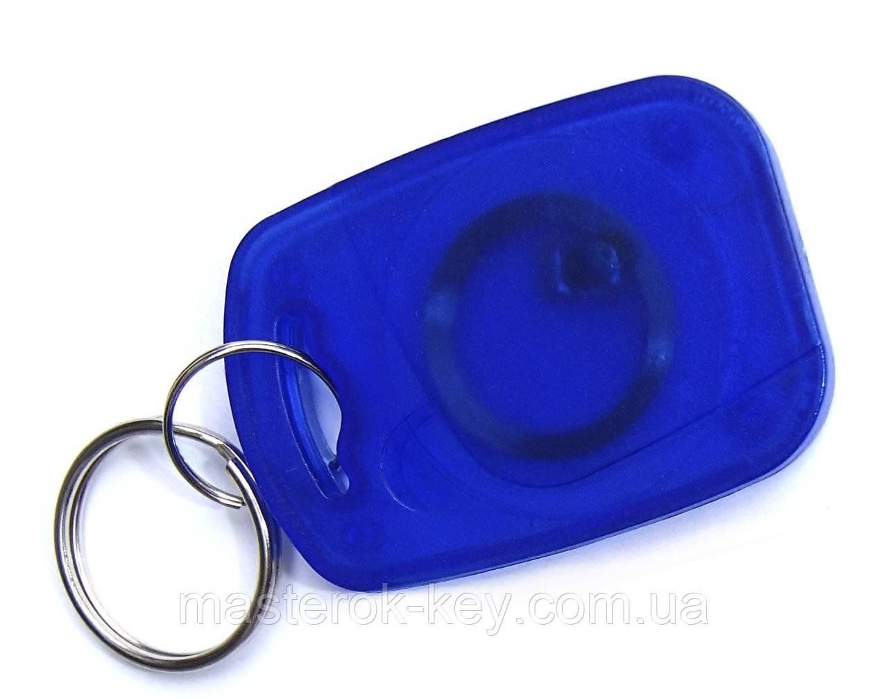 Заготовка ключа для домофона RFID 5577 Фигурная #1 перезаписываемая Синяя