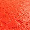 Панель стінова 3D Wall Sticker самоклеюча 70х77 см цегла ПОМАРАНЧЕВИЙ Os-BG07, фото 2