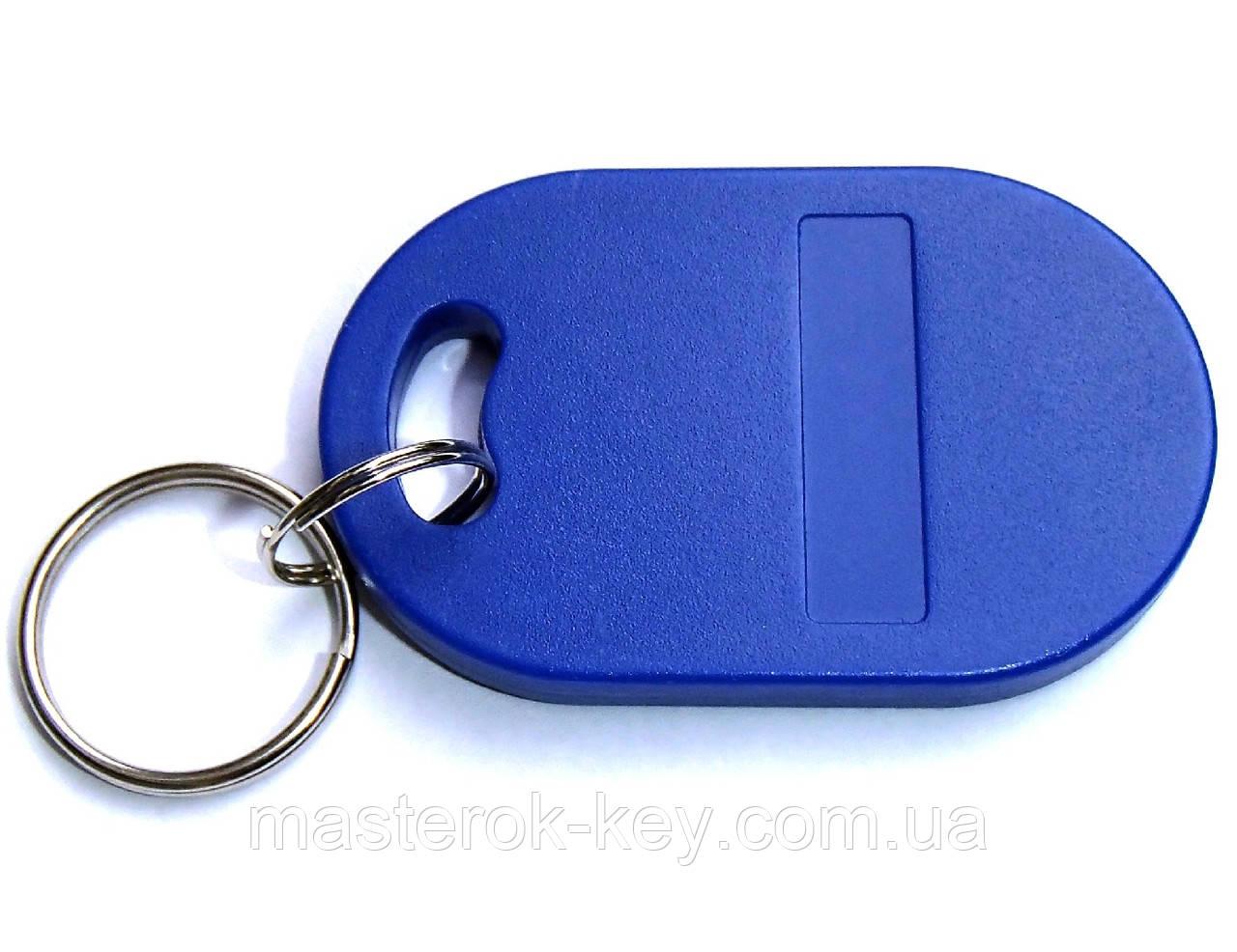 Заготовка ключа для домофона RFID 5577 Фигурная #2 перезаписываемая Синяя