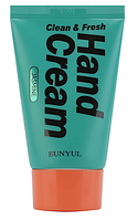 Крем для рук с жасмином Eunyul Clean and Fresh Jasmine Hand Cream 50г