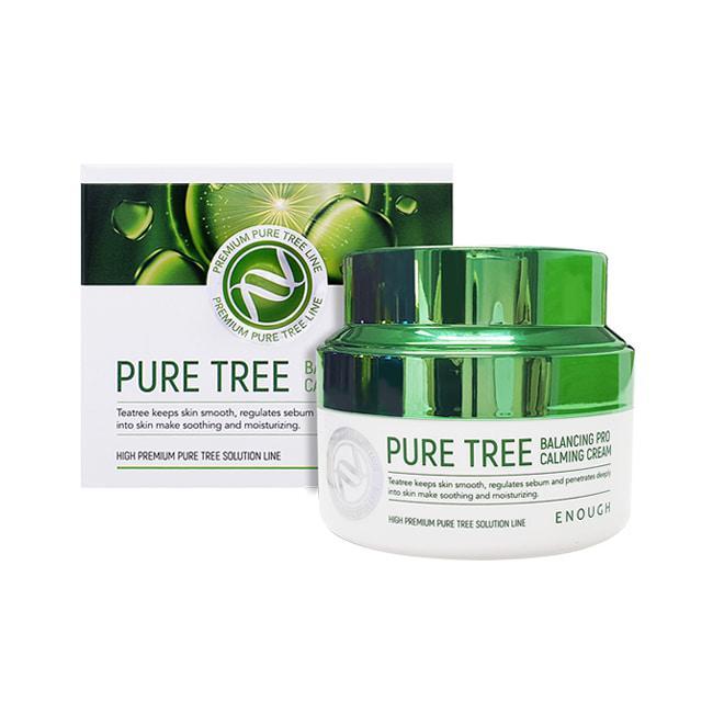 Успокаивающий крем с экстрактом чайного дерева Enough Pure Tree Balancing Pro Calming Cream, 50 ml