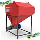 Шнековий бункер 0,6 м³ для твердого палива в котел  25-50 кВт, фото 4