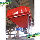 Шнековий бункер 0,6 м³ для твердого палива в котел  25-50 кВт, фото 2