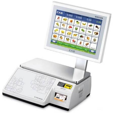 Весы с печатью этикеток CAS CL-7200S-2 (30 кг), фото 2