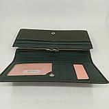 Класичний жіночий гаманець / Классический женский кошелек Balisa C8806-030 green, фото 8