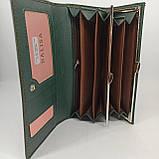 Класичний жіночий гаманець / Классический женский кошелек Balisa C8806-030 green, фото 7