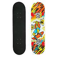 Скейтборд в сборе (роликовая доска)