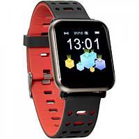 Смарт-часы Gelius Pro GP-CP11 Plus (AMAZWATCH 2020) (IP68) Black/Red (Pro GP-CP11 Plus Black/Red)
