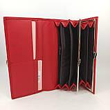 Класичний жіночий гаманець / Классический женский кошелек Balisa C88200-142 red, фото 6