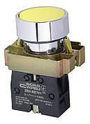 """XB2-BA51 Кнопка """"Старт"""" желтая (A0140010029)"""