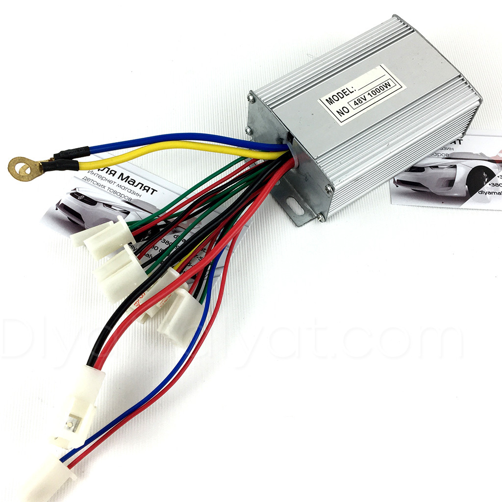 Блок управління для дитячого електро квадроцикла 48V 1000W Crosser 90304, Profi HB-6 EATV800(C)
