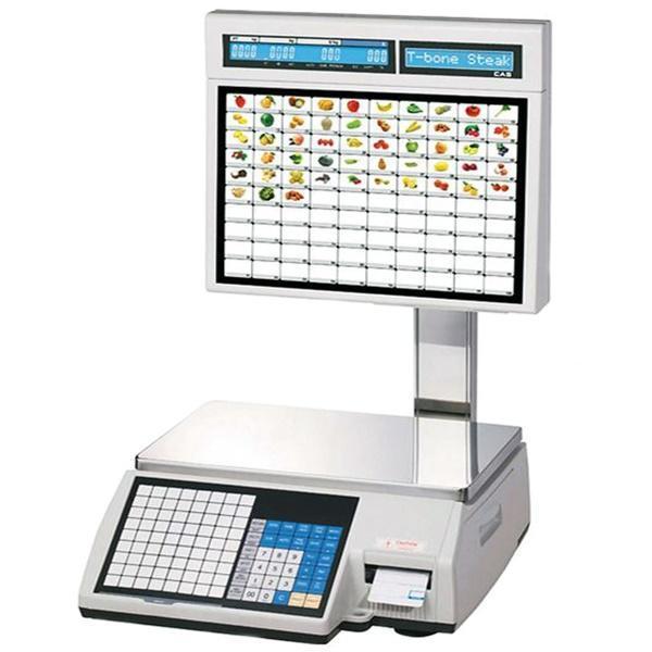 Весы с печатью этикеток CAS CL5000J-IS (15 кг)