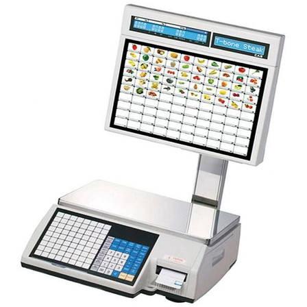 Весы с печатью этикеток CAS CL5000J-IS (15 кг), фото 2
