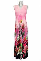 Женское длинное трикотажное летнее платье Maritim