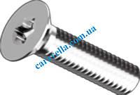 DIN 7991, винты под ключ TORX с потайной головкой и полной резьбой