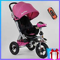 Детский Велосипед . Трехколесный велосипед с ручкой 698 / 32-110  Best Trike розовый