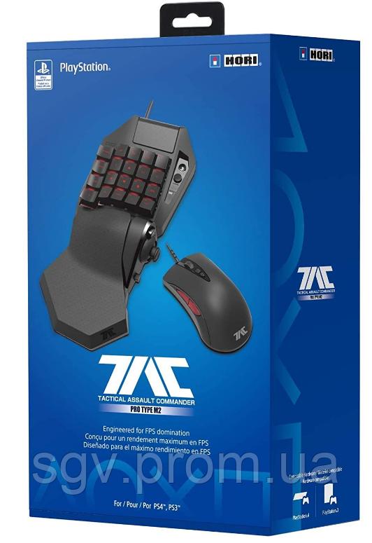Контроллер HORI PlayStation 4 TAC Pro Программируемые контроллеры