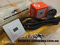 Електрический тонкий мат для обогрева дома, 4,4 м2 с цифровым регулятором Terneo ST
