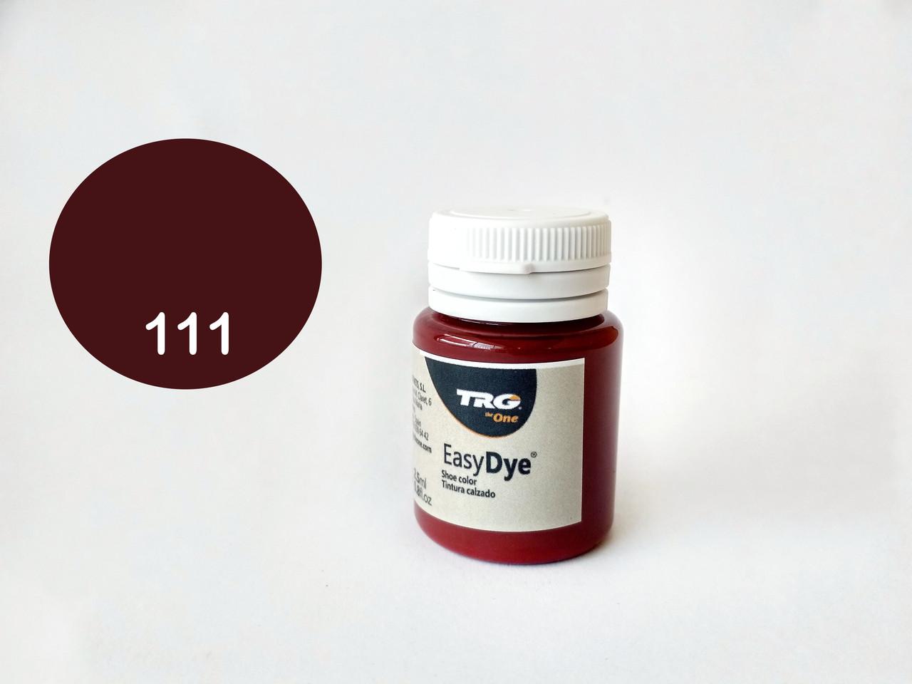 Краска для  кожи TRG №111 Bordeaux (Бордо) 20 мл