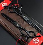 SMITH CHU SMHL01  6  дюйма набор профессиональных ножниц для стрижки волос JP440C 9cr13 чехол, фото 2