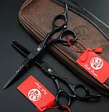 SMITH CHU SMHL01  6  дюйма набор профессиональных ножниц для стрижки волос JP440C 9cr13 чехол, фото 3