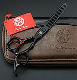SMITH CHU SMHL01  6  дюйма набор профессиональных ножниц для стрижки волос JP440C 9cr13 чехол, фото 6