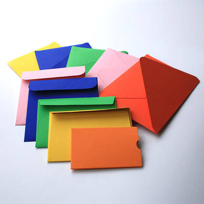Еко конверти кольорові