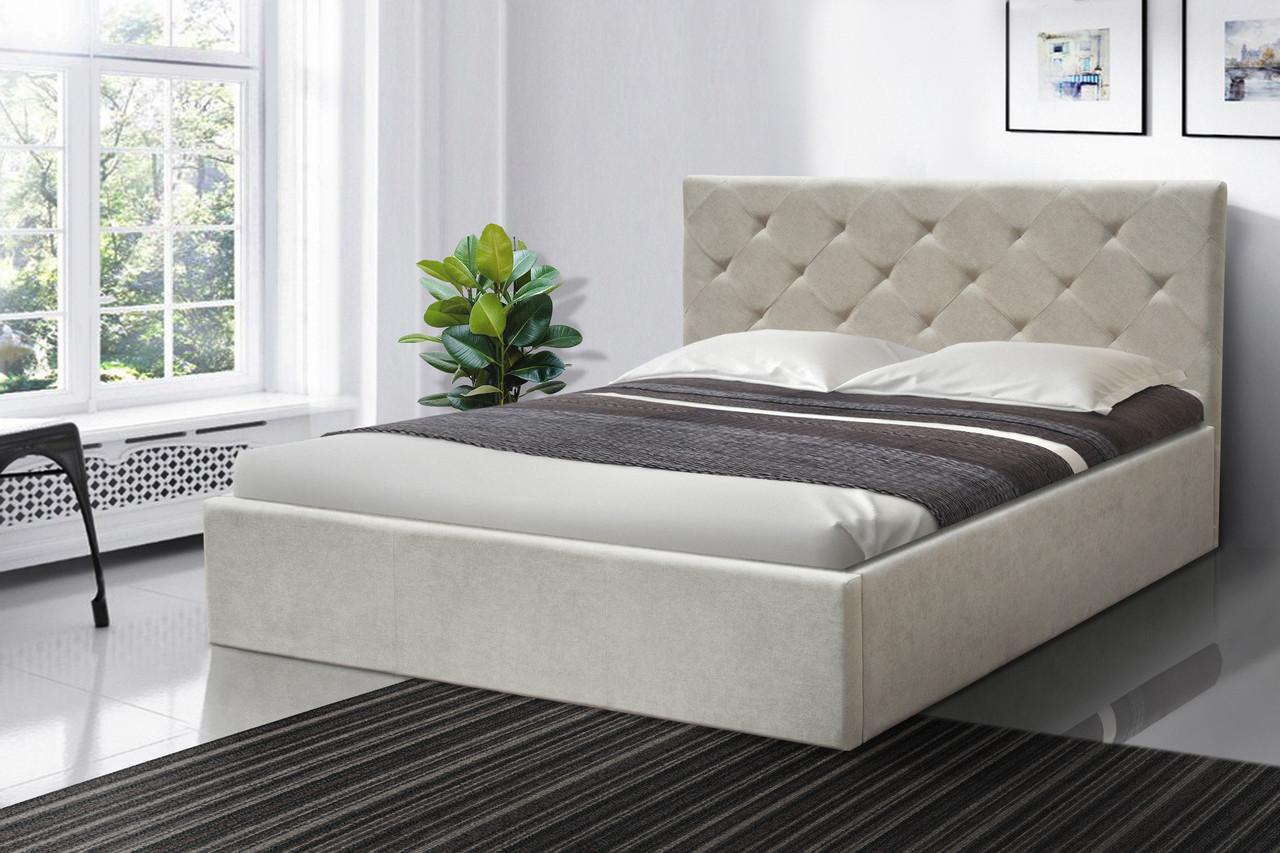 Ліжко Атланта 1,60 м. (асортимент оббивки)