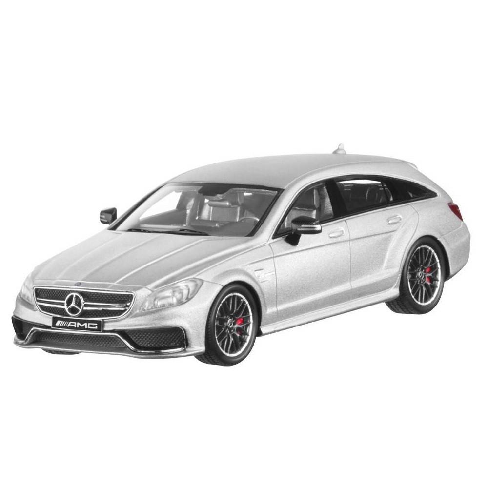 Модель Mercedes-Benz CLS 63 AMG 4Matic Shooting Brake (X218), 1:43 Iridium Silver, Limited Edition, B66960366