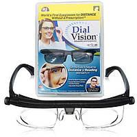 Очки для коррекции зрения с регулировкой линз Dial Vision