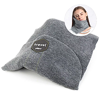 Шарф подушка для путешествий Travel Pillow