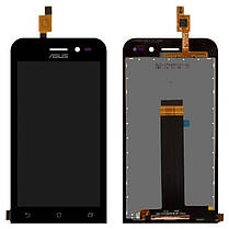 Модуль (сенсор+дисплей) Asus ZenFone Go (ZB452KG) чорний, фото 2