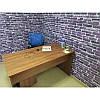 Панель стінова 3D Wall Sticker самоклеюча 70х77 см цегла ФІОЛЕТОВИЙ КАТЕРИНОСЛАВСЬКИЙ ЦЕГЛА, фото 3
